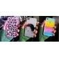 Прозрачные Стиль Радуги кадров ТПУ Футляр с гвардии экрана и ткань для чистки iPhone 4/4S (дополнительных цветов)