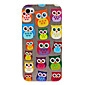 Cute Owl Pattern Hard Case for iPhone 4/4S