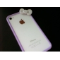 Cartoon Style Back Case for iPhone 4 and 4S (Assorted Colors)