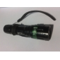 LED손전등 LED 200 lm 3 모드 Cree XR-E Q5 줌이 가능한 조절가능한 초점 캠핑/등산/동굴탐험 블랙