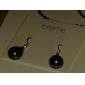 Lureme®12mm Water Drop Shaped Pearl Earring