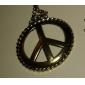cobre antigo colar símbolo da paz