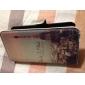 iPhone 4/4S를위한 만화 에펠 탑 본 가죽 단단한 상자