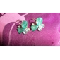 Women's Stud Earrings Crystal Alloy Butterfly Animal Jewelry For Daily