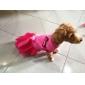 Собаки Платья Красный Весна/осень Однотонный Свадьба