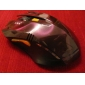 Professional 2.4G Wireless Red Game Mouse(800/1200/1600DPI)