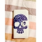 Motif Case Full Body de crâne pour iPhone 4/4S (couleurs assorties)