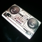 Retro Style Radio Pattern Hard Case for LG Optimus L5 E612