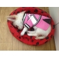 Dog Shirt / T-Shirt Dress Dog Clothes Breathable Casual/Daily Letter & Number Pink Costume For Pets