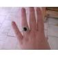 z&X® o anel de pedras preciosas preto