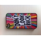 Letters Pattern Hard Case for iPhone 4/4S