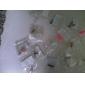 liga de zircão de ameixa de ameixa padrão anti-pó plug (cores aleatórias) diy para iphone 8 7 samsung galaxy s8 s7