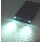 Portable Power Bank External Battery Mini LED Torch for iPhone/iPod/Mobile Phones (Black, 1600mAh)