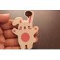 Кролик Shaped Мягкий резиновый Bookmark