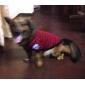 britanniques de style bande t-shirt pour chiens (XS-XL, couleur aléatoire)
