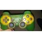 Housse de protection en silicone double Style-Color pour PS3 Controller (vert d'armée et rouge)