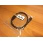 Câble HDMI 1.4V, Support 3D pour Smart LED HDTV, Apple TV, Blu-Ray, DVD (1m)