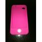 Case de Silicone para iPhone 4 - Rosa