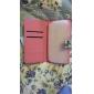 용 삼성 갤럭시 케이스 카드 홀더 / 스탠드 / 플립 / 패턴 케이스 풀 바디 케이스 버터플라이 인조 가죽 Samsung S4
