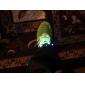 플래시 성장 스틱 시안 색 방수 led 신발 끈 (1 쌍)