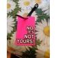 Viagem Etiqueta para Mala / Copacho Inflado Acessório de Bagagem Plástico Rosa