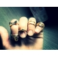 Ring Party Daily Casual Jewelry Alloy Women Statement Rings 1pc,5 Gold