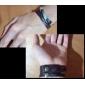 Homens Pulseiras com Pendentes Pulseiras de couro Original bijuterias Moda Pele Liga Jóias Asas / Penas Jóias Para Esportes Presentes de