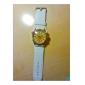Masculino Relógio Elegante Japanês Quartzo Banda Preta Branco Branco Preto