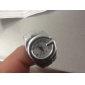 Unisex Analog Ring Watch (Silver) Cool Watches Unique Watches