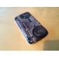 Retro Design Pattern Радио Прочный жесткий футляр для Samsung Galaxy I9190 Мини S4