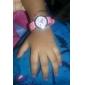 아동 패션 시계 석영 실리콘 밴드 Heart Shape 핑크