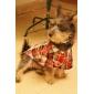 Красочные Plaid Pattern досуг рубашка для собак (XS-L)