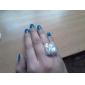Слоя Pattern модные серебряные дамы кольцо