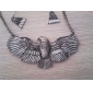 Eagle Alloy Earring Necklace Set