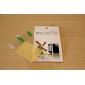 Противобликовая защитная задняя и передняя пленка + ветошь для iPhone 5