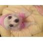 Кошка Собака Толстовки Одежда для собак Мода Тиары и короны Розовый Костюм Для домашних животных