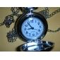 성모 마리아 (실버)와 여성의 합금 아날로그 석영 목걸이 시계