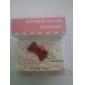 Prise Jack Anti-poussière pour Ecouteurs, Style Nœud, pour iPhone 4/4S - Couleurs Assorties