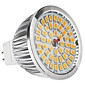 Mr16 (gu5.3) 6w 48x2835smd 500-600lm теплый белый свет светодиодная лампочка (12v)
