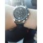 Men's Business Style PU Leather Band Quartz Wrist Watch (Assorted Colors) Cool Watch Unique Watch