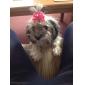 Koty Psy Akcesoria do włosów Kokardy Różowy Ubrania dla psów Lato Wiosna/jesień Kokarda Urodziny Motyw świąteczny