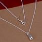 Сладкий (Drop) Серебро Медь ожерелье (1 шт)