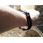 Accessory Elegant Combination Leather Rope Bracelet Jewelry
