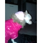 Dog Coat / Hoodie Rose Dog Clothes Winter Solid Keep Warm / Windproof