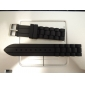 18mm unisexe en caoutchouc de bande de montre de silicone (couleurs assorties)