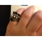 Women's Statement Rings Luxury Synthetic Gemstones Alloy Jewelry For Party Daily