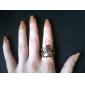 Кольца Бижутерия Сплав Массивные кольца8 Золотой