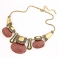 Jewelry Vintage Necklaces / Statement Necklaces Party / Daily Alloy / Resin Women White Wedding Gifts