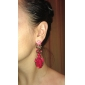 여성 드랍 귀걸이 지르콘 합금 보석류 제품 파티