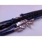 libellule les flèches de huit femmes multicouche tissé bracelet